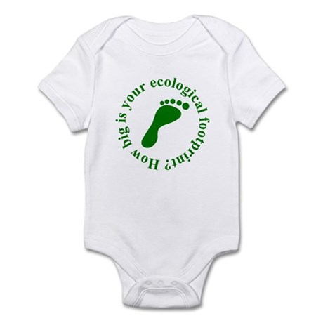 Ecological Footprint Ecology Infant Bodysuit