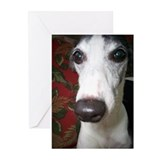Whippet Dog Greeting Cards (Pk of 10)