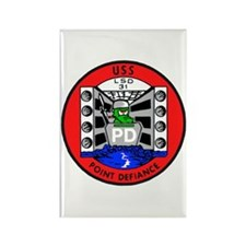 USS Point Defiance (LSD 31) Rectangle Magnet (100