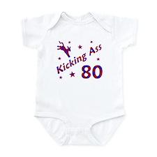 Kicking Ass 80 * Infant Bodysuit