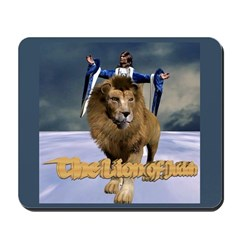 The Lion of Judah Mousepad