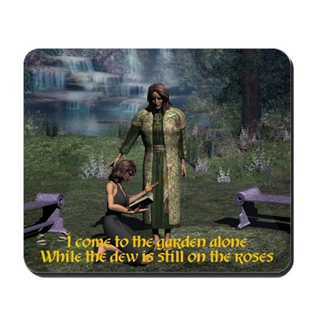 In the Garden Mousepad
