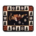 Vermont Snow Angel Mousepad