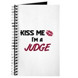 Kiss Me I'm a JUDGE Journal