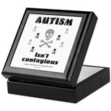 Autism isn't contagious! Keepsake Box