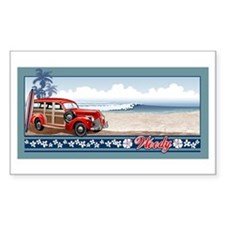 WOODIE Rectangle Decal
