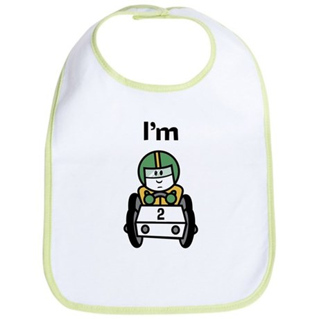 I'm 2 Racing Car Bib