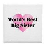 WB Big Sister Tile Coaster
