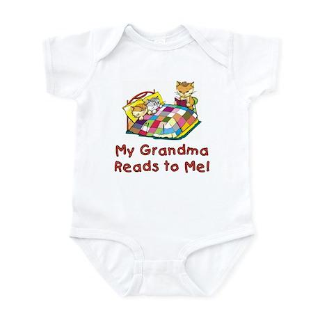 Grandpa Reads Infant Bodysuit