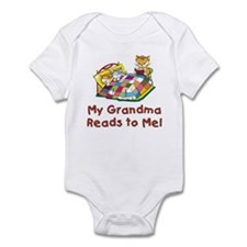 Grandpa Reads Infant Bodysuit