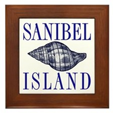 Sanibel Island Shell -  Framed Tile