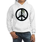 Peace & Doves Hooded Sweatshirt