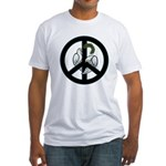 Peace & Doves Fitted T-Shirt