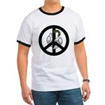 Peace & Doves Ringer T