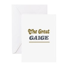 Gaige  Greeting Cards (Pk of 10)