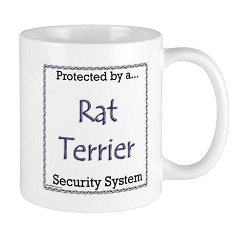 Rat Terrier Security Mug