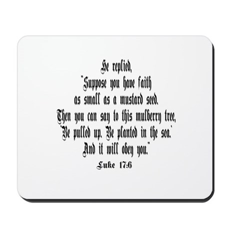 Luke 17:6 NIRV Mousepad