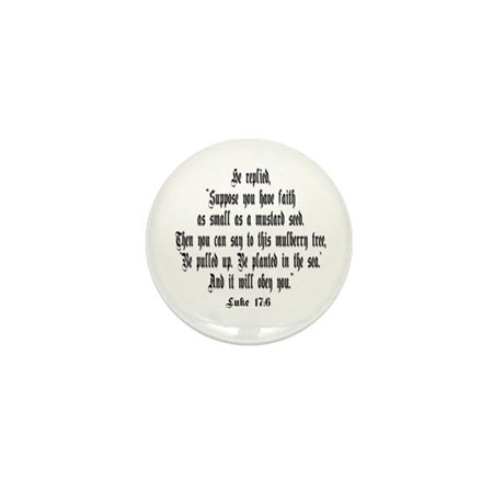 Luke 17:6 NIRV Mini Button (10 pack)