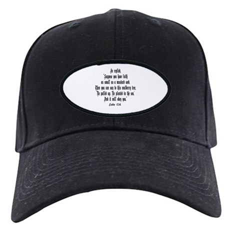 Luke 17:6 NIRV Black Cap