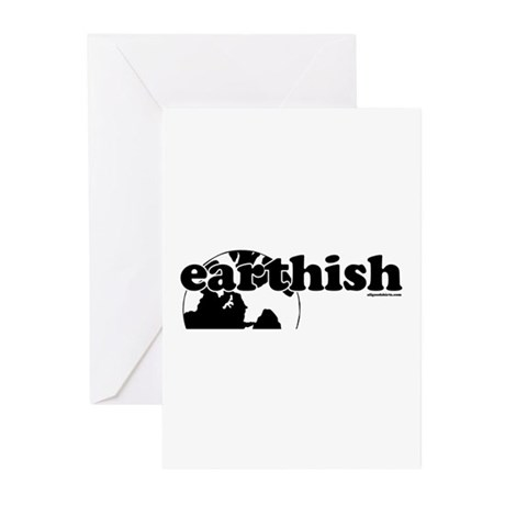 Earthish Greeting Cards (Pk of 10)