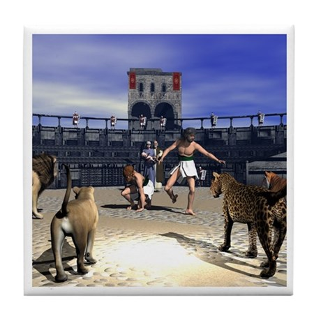 The Coliseum Tile Coaster