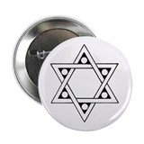 "Star of David 2.25"" Button (10 pack)"
