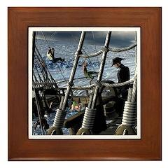 Sailor's Dilemma Framed Tile