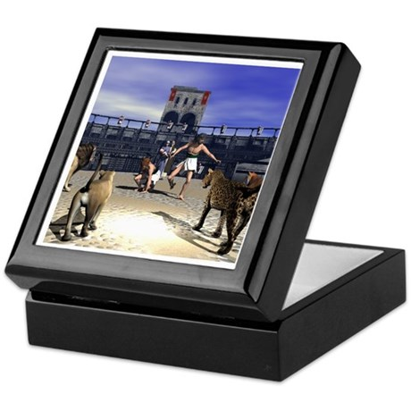The Coliseum Keepsake Box