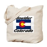 Boulder Colorado Tote Bag