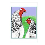 Columbian Cock and Hen Postcards (Package of 8)