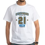 Illinois 21 White T-Shirt