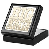 Big White Chocolate Keepsake Box