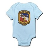 USS FOX Infant Bodysuit