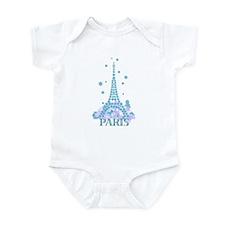 Flower Eiffel 04 Infant Bodysuit