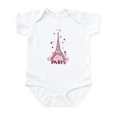 Flower Eiffel 05 Infant Bodysuit