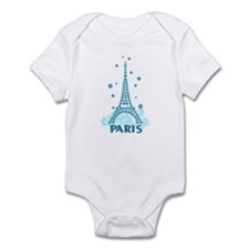 Flower Eiffel 06 Infant Bodysuit