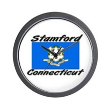 Stamford Connecticut Wall Clock