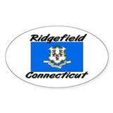 Ridgefield Connecticut Oval Decal