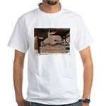 Mangy Moose White T-Shirt