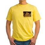 Mangy Moose Yellow T-Shirt