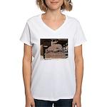Mangy Moose Women's V-Neck T-Shirt
