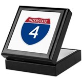 Interstate 4 Keepsake Box