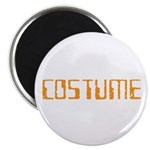 Simple Halloween Costume Magnet