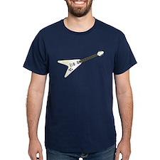 V-Shaped Guitar T-Shirt