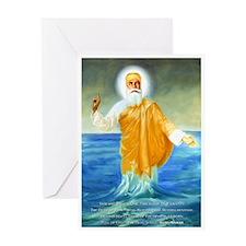 Guru Nanak Greeting Card