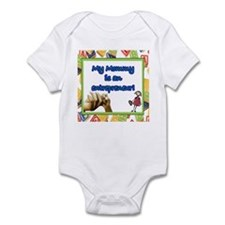 """My Mom's an Entrepreneur!"" Infant Bodysuit"