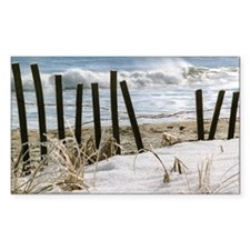 Old Orchard Beach Rectangle Decal
