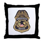 Immigration Service Throw Pillow