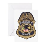 Immigration Service Greeting Cards (Pk of 20)