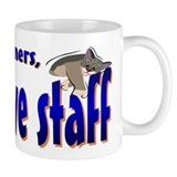 Dogs Owners Cats Staff Mug